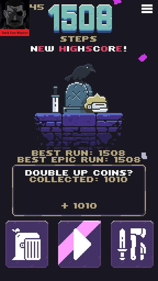 Hoppenhelm: Best Epic Run 1,508 points