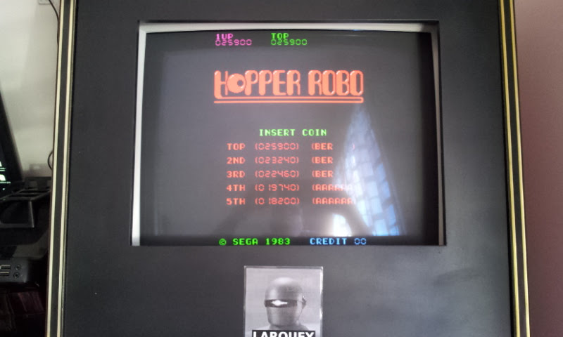Larquey: Hopper Robo [hopprobo] (Arcade Emulated / M.A.M.E.) 25,900 points on 2017-12-31 08:28:26