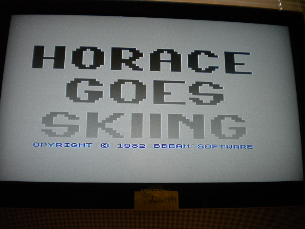 Horace Goes Skiing 700 points