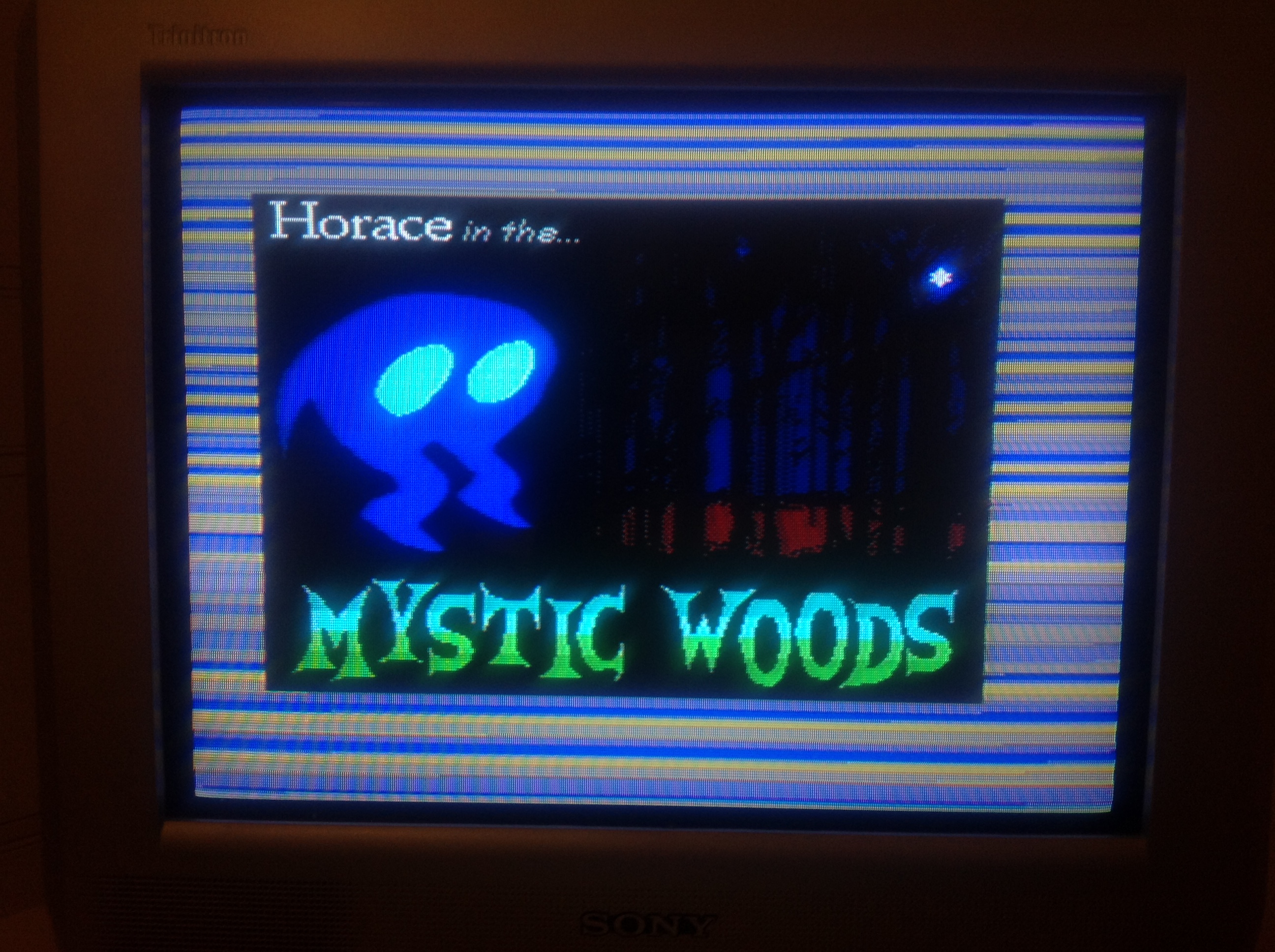 CoCoForest: Horace In The Mystic Woods [Normal] (ZX Spectrum) 3,328 points on 2016-01-17 13:49:00