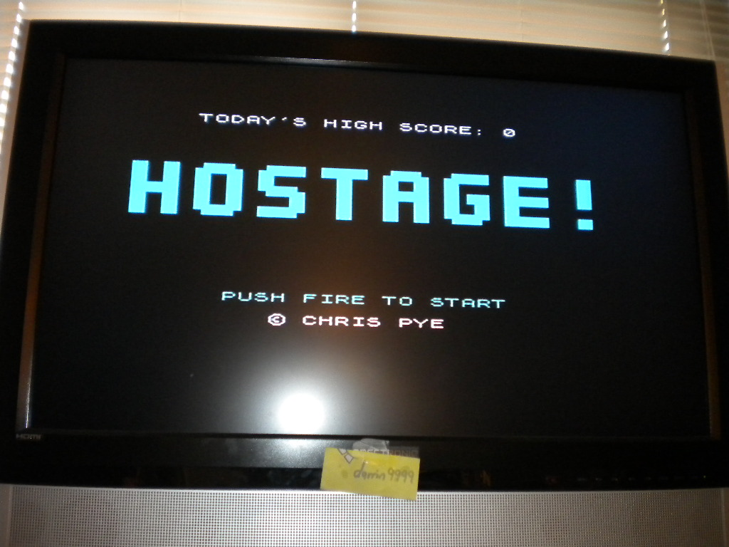 Hostage! [Chris Pye] 3,340 points