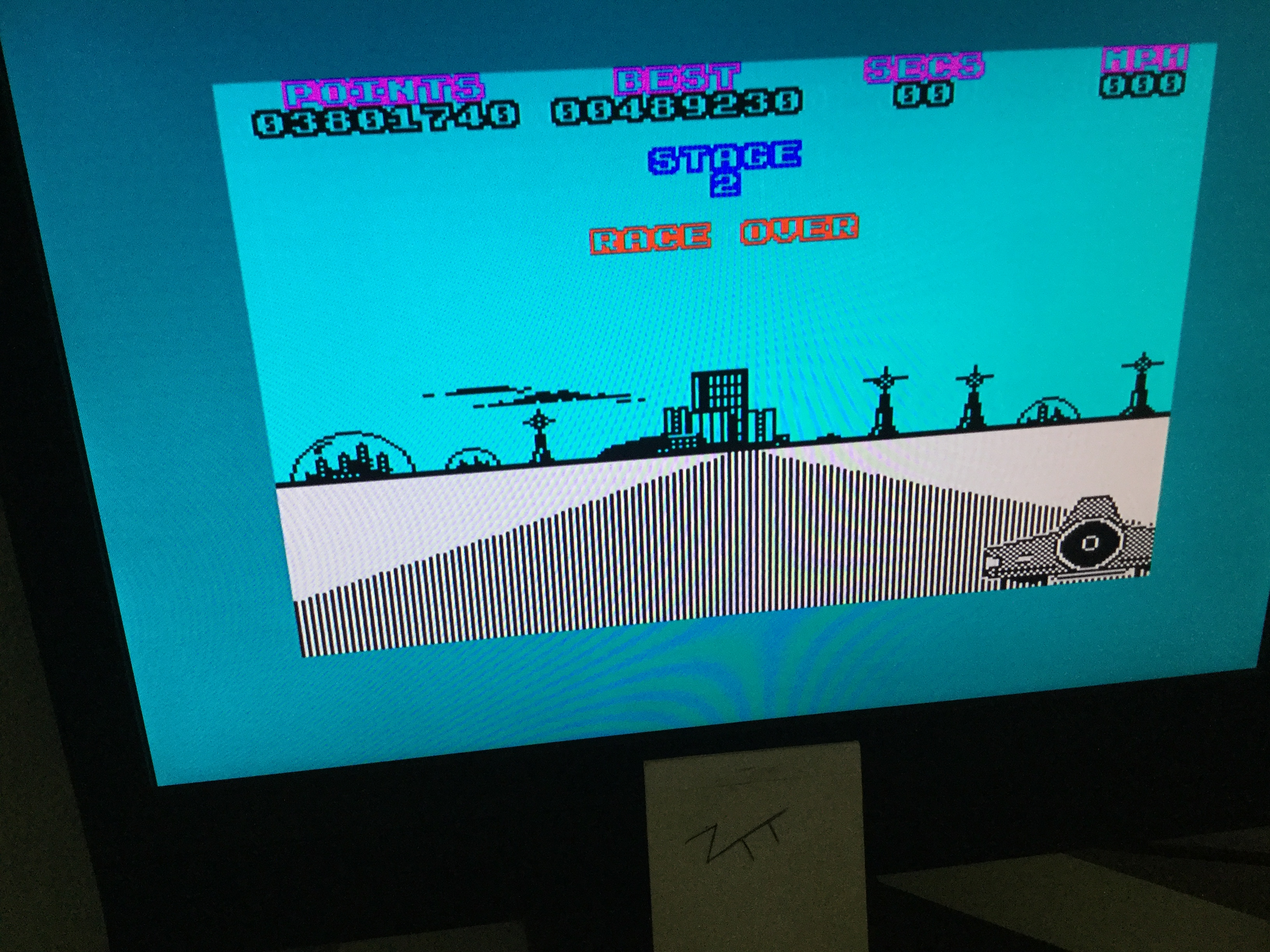 Frankie: Hot Tyre (ZX Spectrum) 3,801,740 points on 2020-07-04 07:15:16