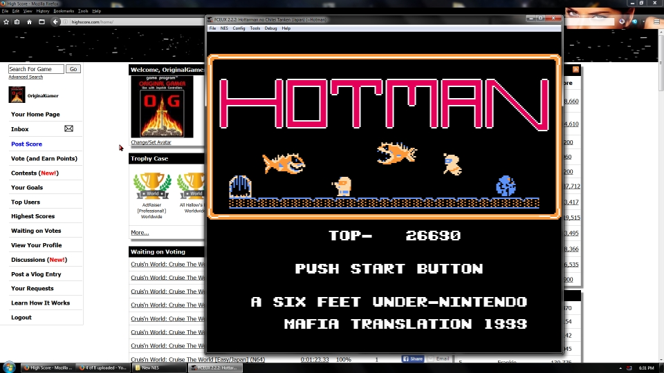 OriginalGamer: Hottarman no Chitei Tanken (NES/Famicom Emulated) 26,690 points on 2016-08-26 04:22:53