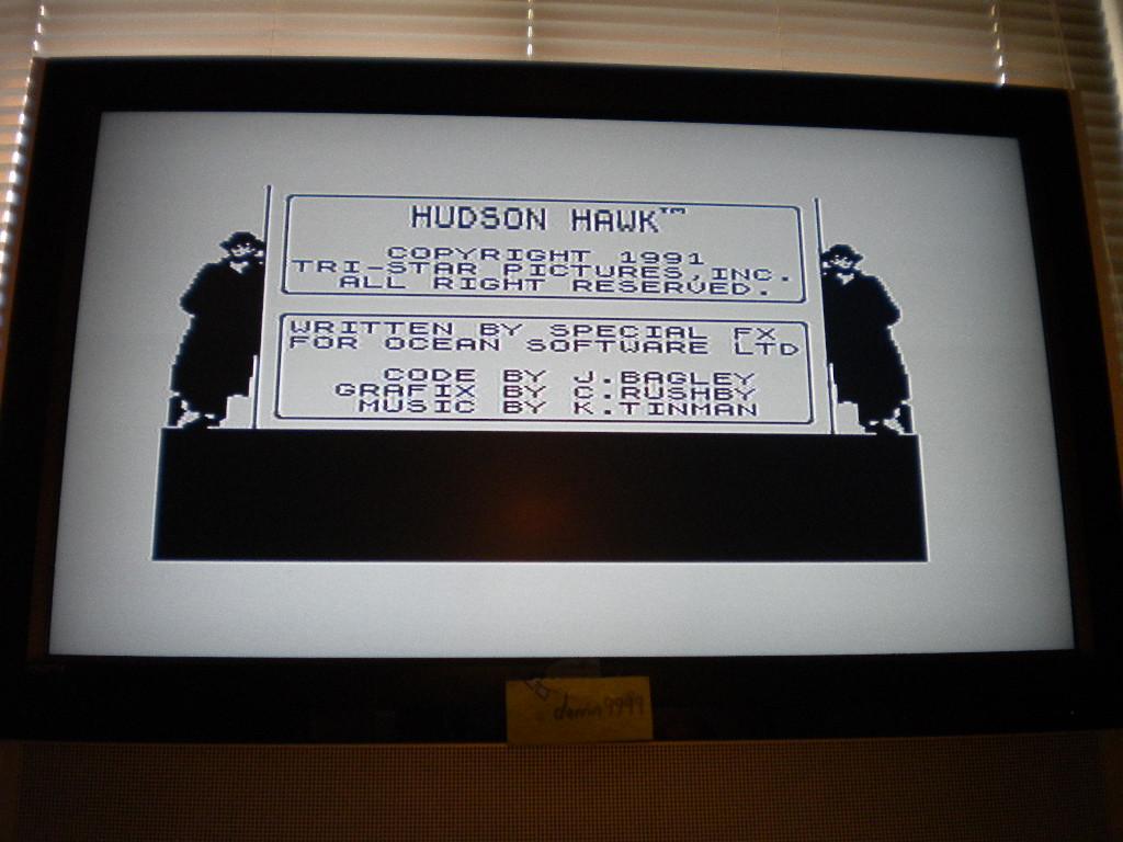 Hudson Hawk [100,000 Points Completion Bonus] 10,790 points
