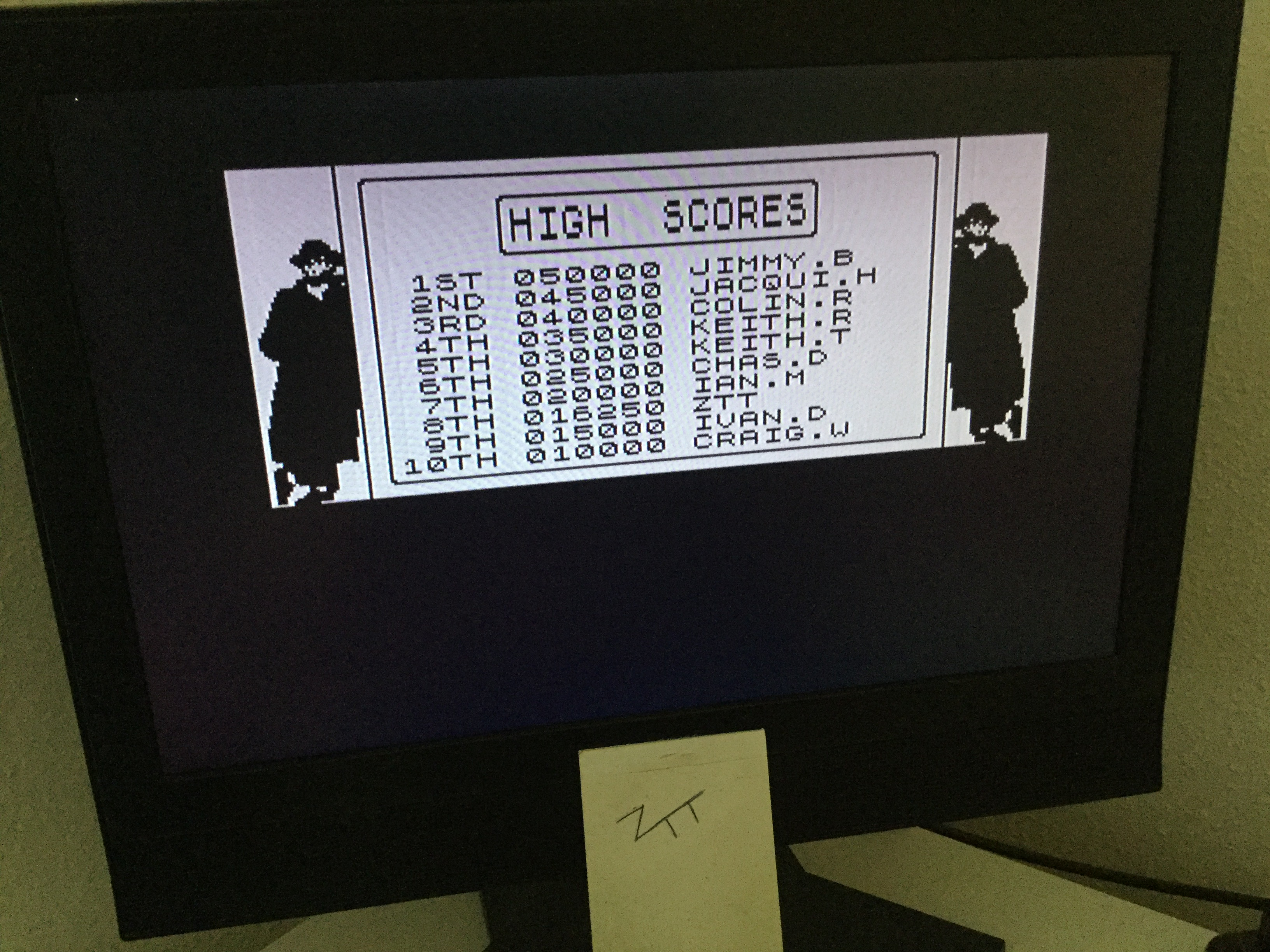 Frankie: Hudson Hawk [100,000 Points Completion Bonus] (ZX Spectrum) 16,250 points on 2020-03-26 13:03:39