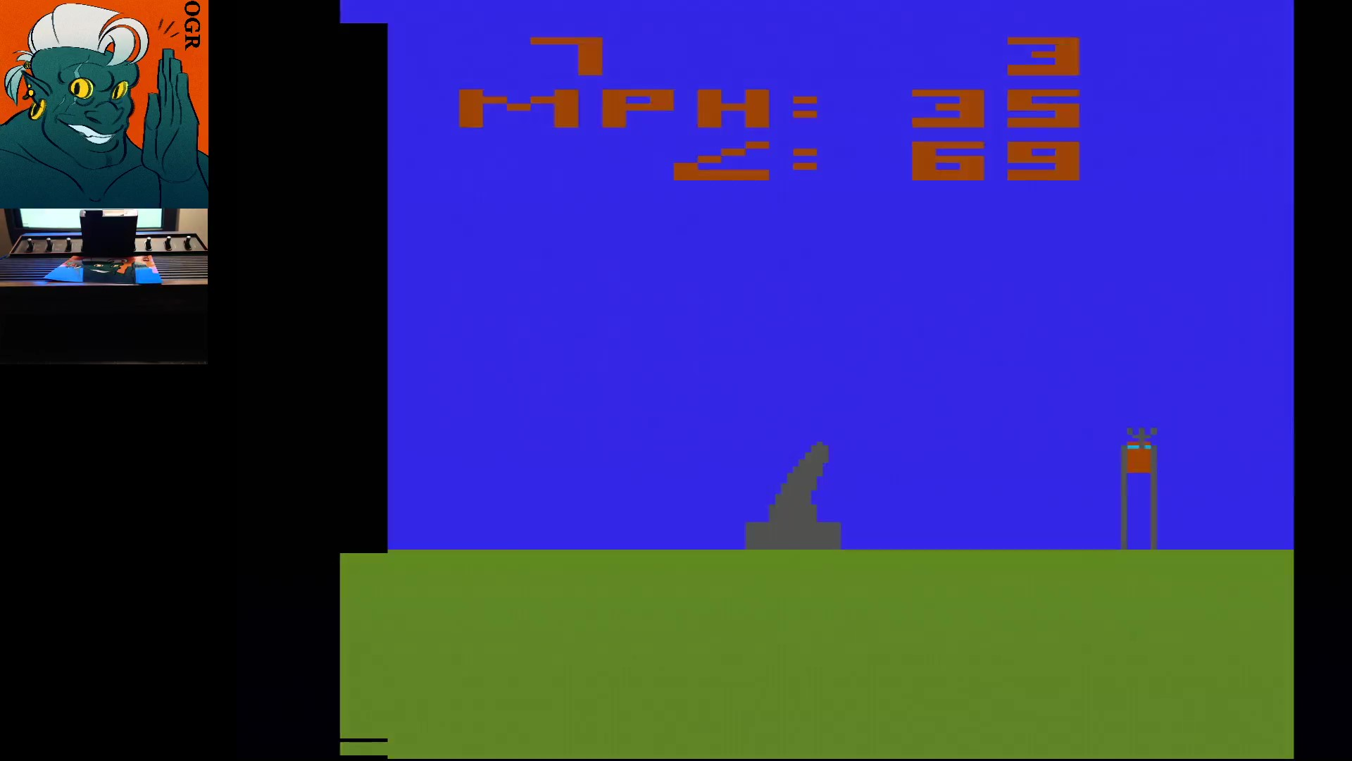AwesomeOgre: Human Cannonball [Game 1] (Atari 2600 Expert/A) 7 points on 2020-05-19 09:48:28