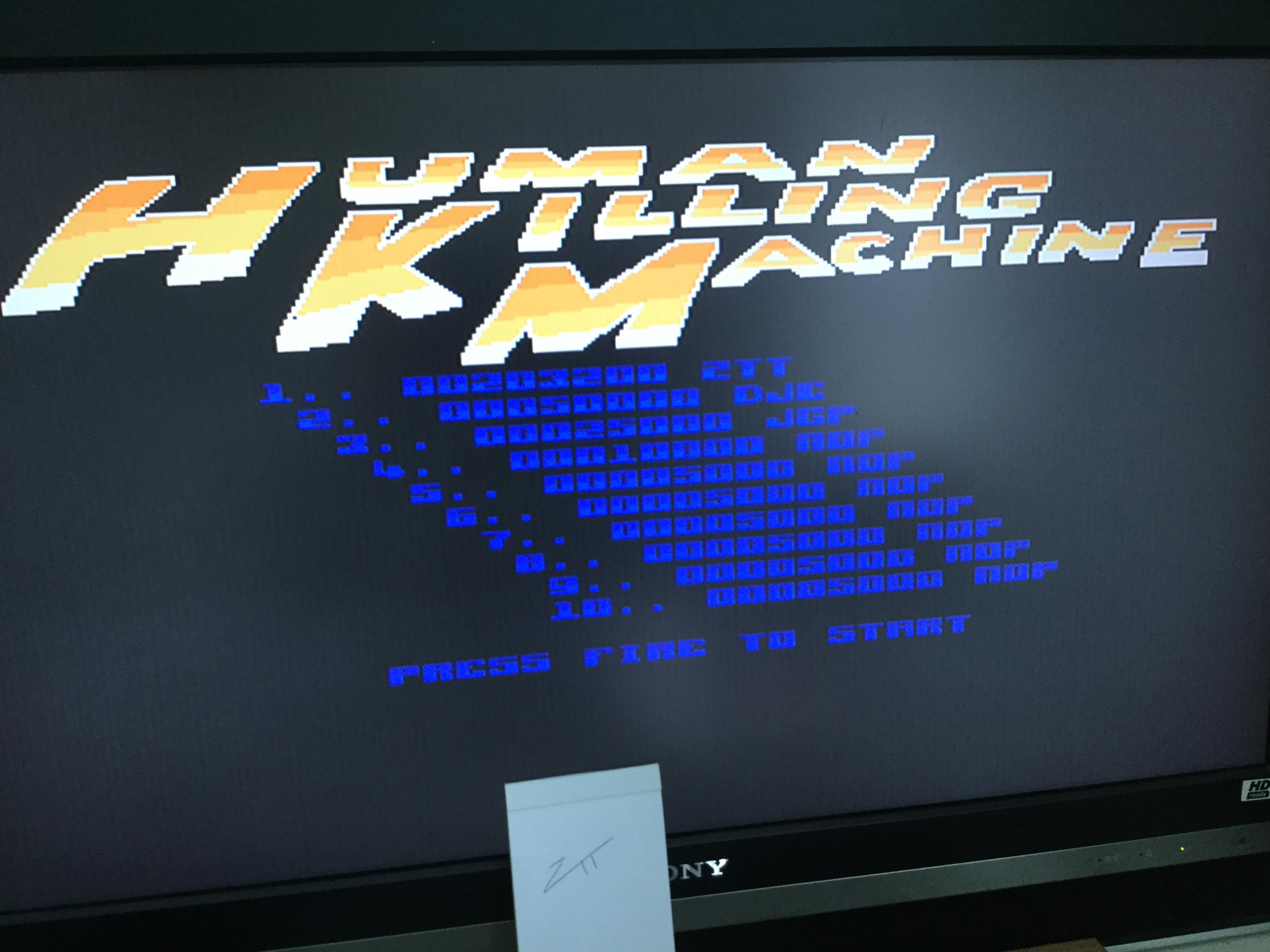 Human Killing Machine / HKM 203,200 points