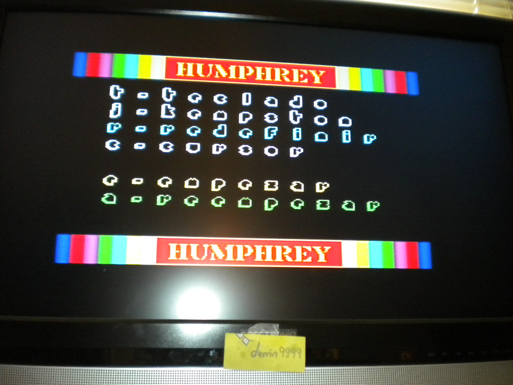 Humphrey 180 points
