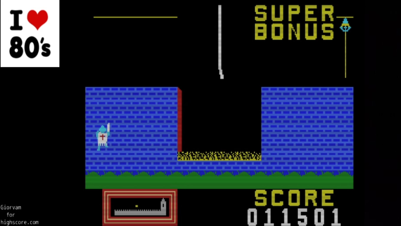 Giorvam: Hunchback (MSX Emulated) 11,501 points on 2020-02-26 12:16:22