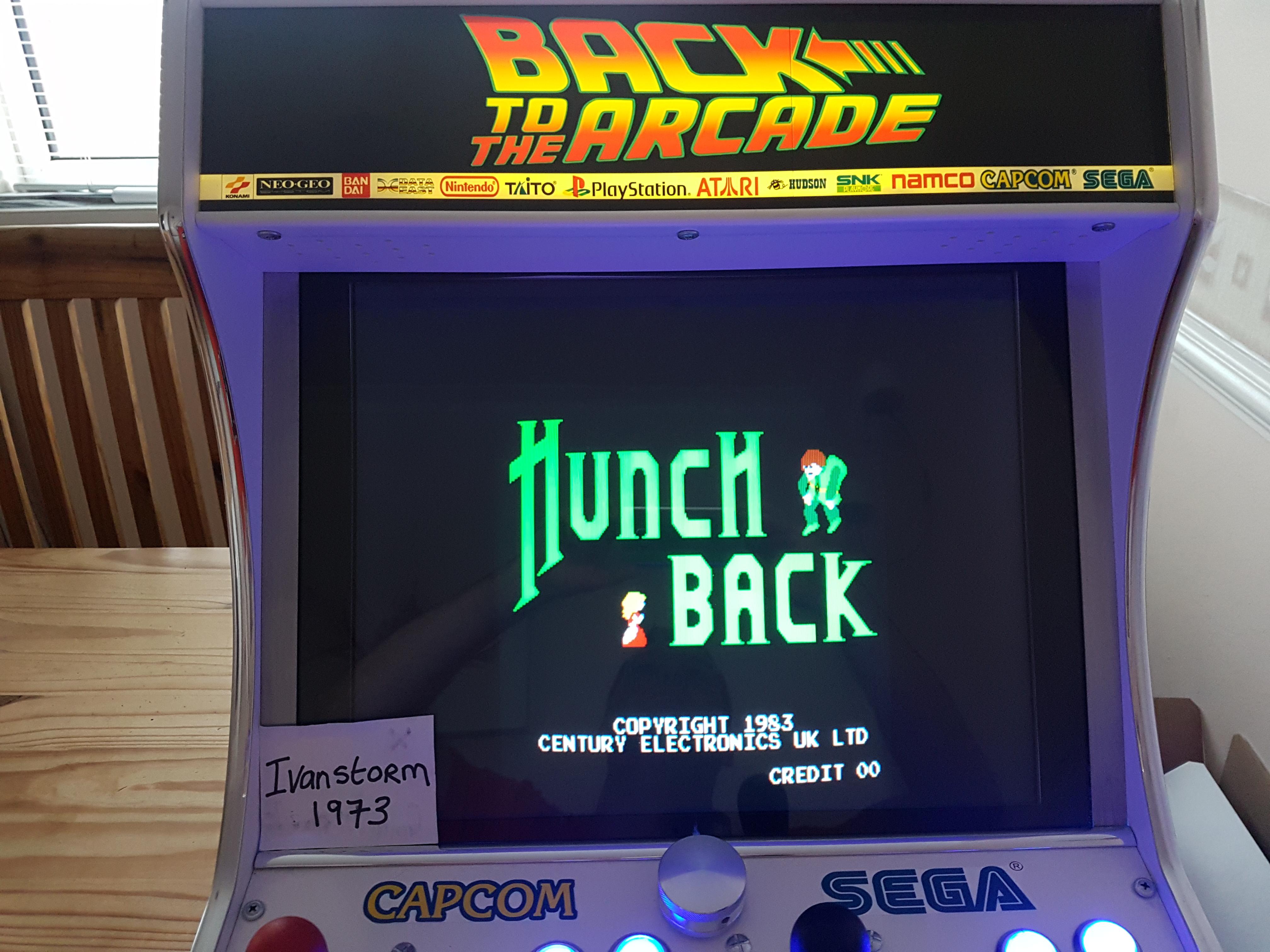 Ivanstorm1973: Hunchback [hunchbak] (Arcade Emulated / M.A.M.E.) 143,700 points on 2017-11-19 09:02:32