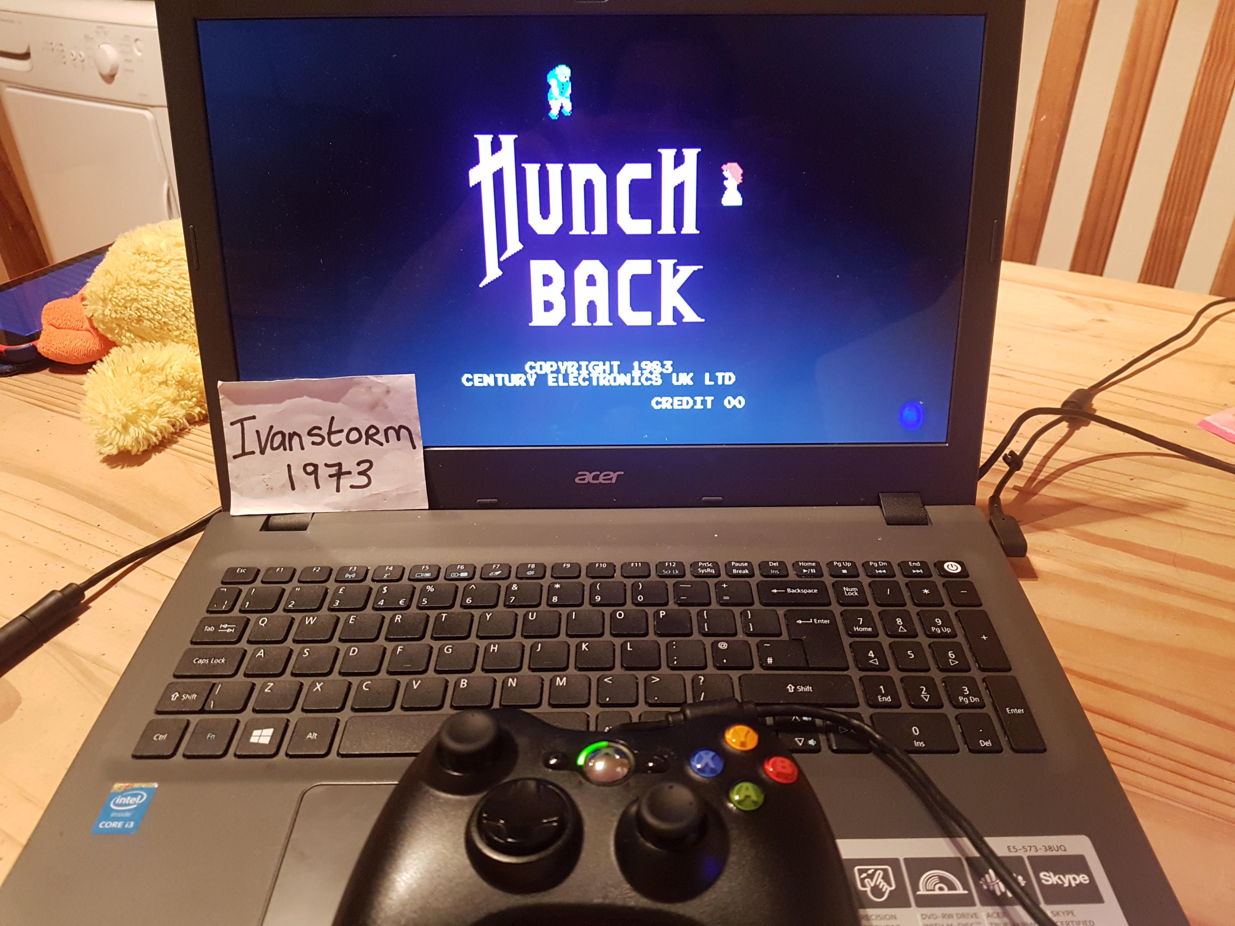Hunchback [hunchbkd] 84,600 points