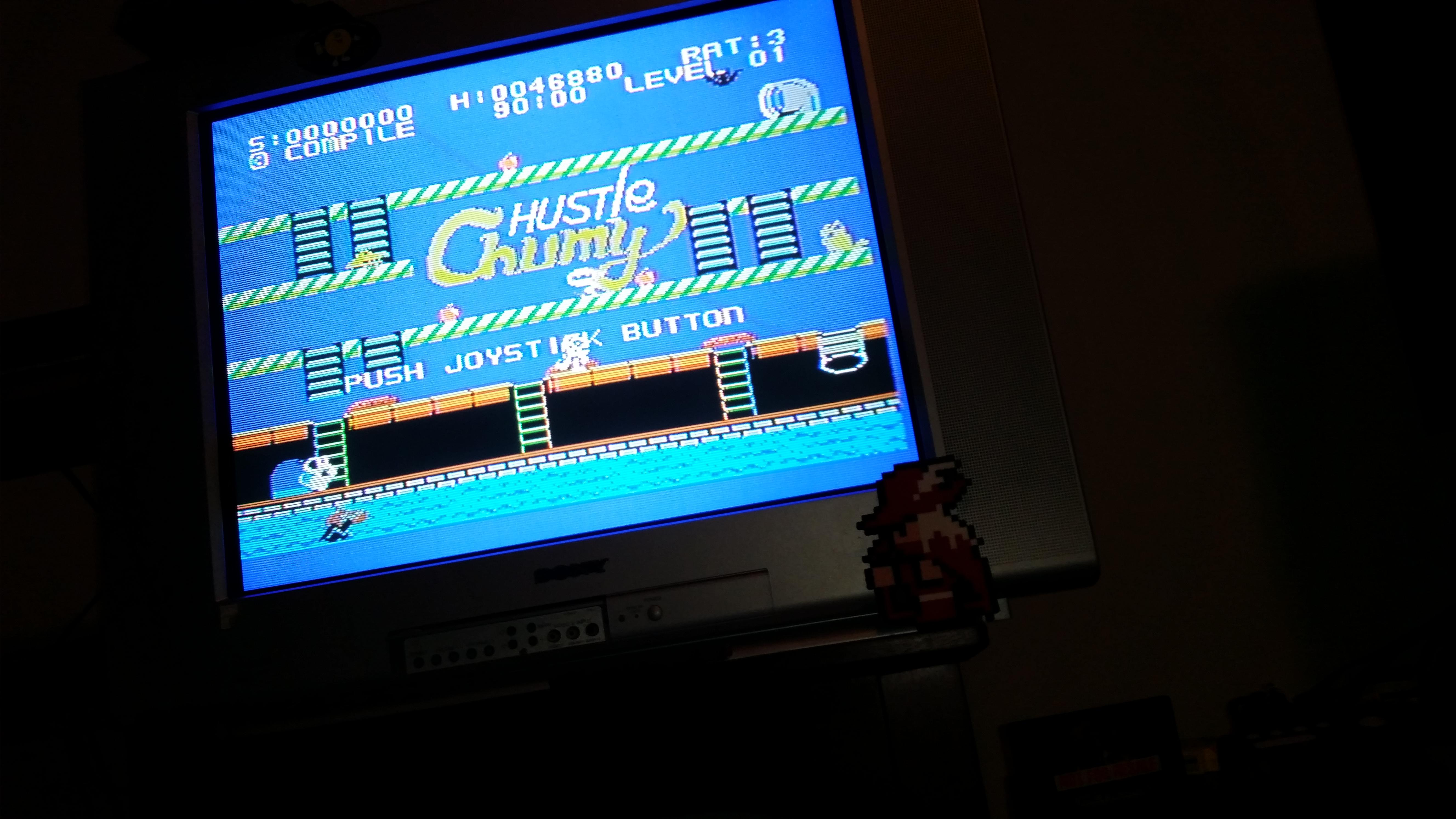 RedMage: Hustle Chumy (Sega SG-1000) 46,880 points on 2017-07-31 20:57:50