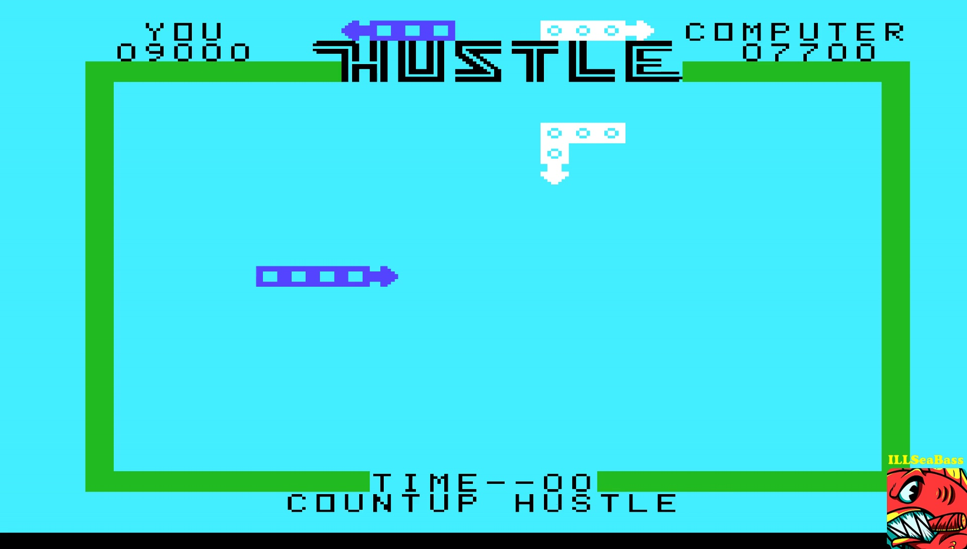 ILLSeaBass: Hustle [Countup: Amateur] (TI 99/4A Emulated) 9,000 points on 2017-05-12 20:29:17