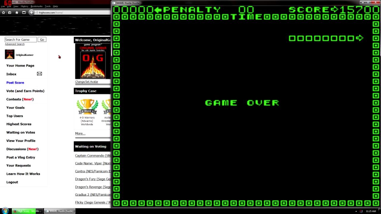 OriginalGamer: Hustle [hustle] (Arcade Emulated / M.A.M.E.) 15,700 points on 2015-10-23 00:15:28