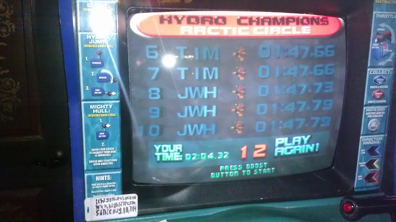 Hydro Thunder: Artic Circle time of 0:02:04.32