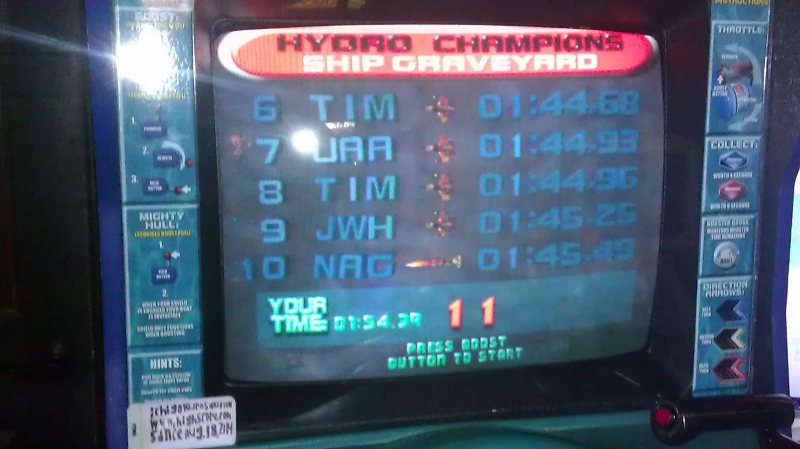 ichigokurosaki1991: Hydro Thunder: Ship Graveyard (Arcade) 0:01:54.39 points on 2016-11-06 14:01:01