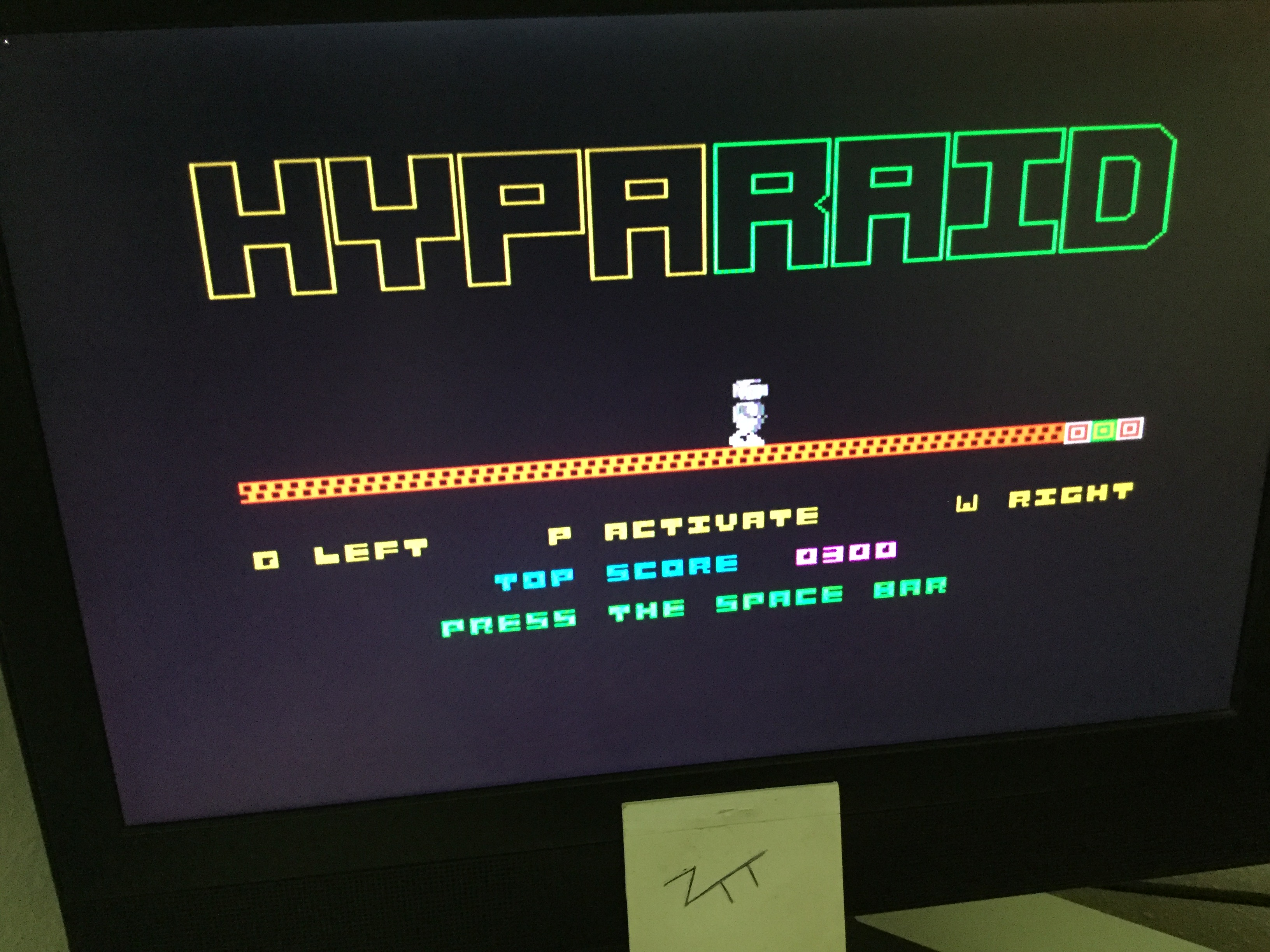 Frankie: Hypa Raid (ZX Spectrum) 300 points on 2020-07-19 04:11:57