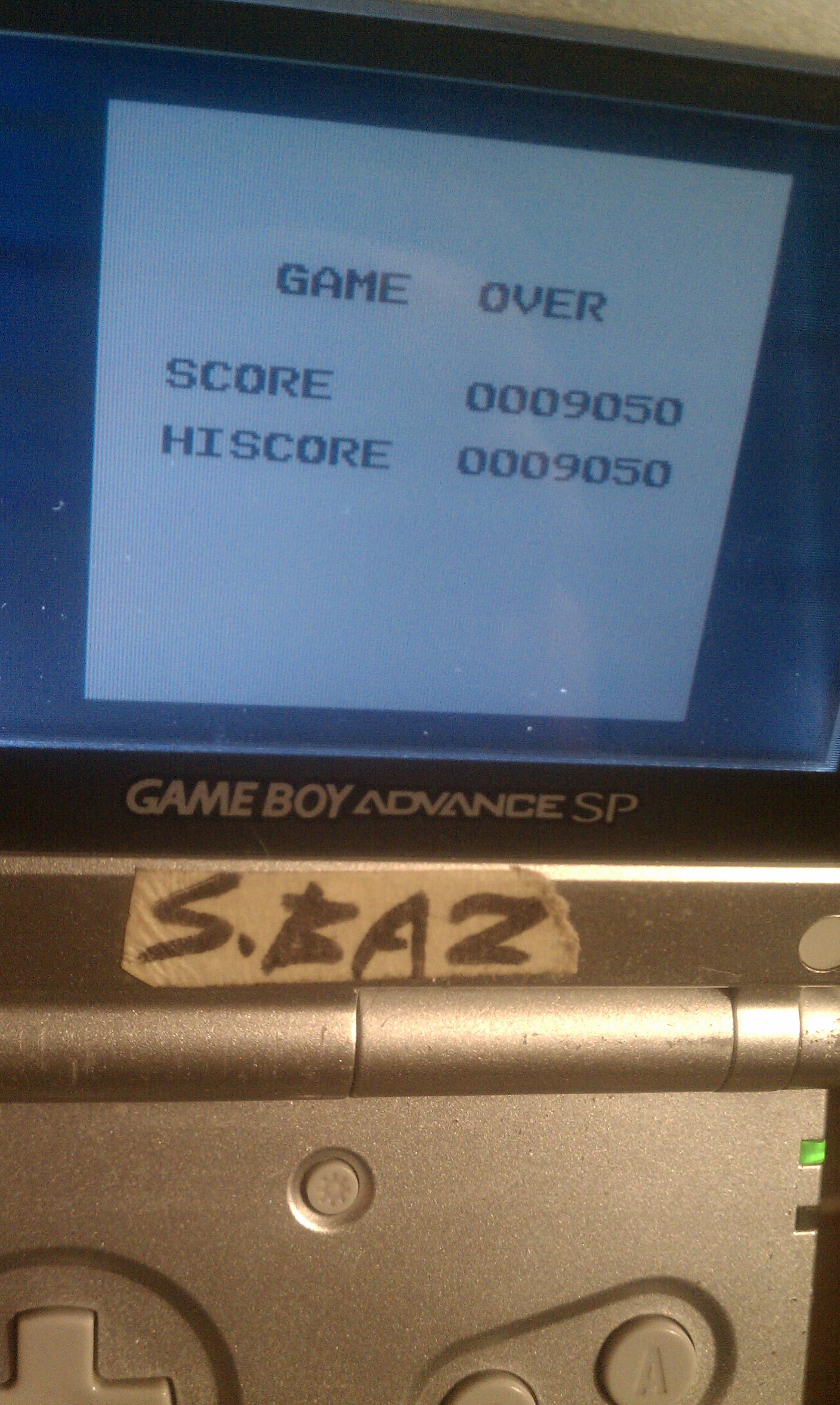 S.BAZ: Hyper Lode Runner (Game Boy) 9,050 points on 2020-03-20 15:08:09
