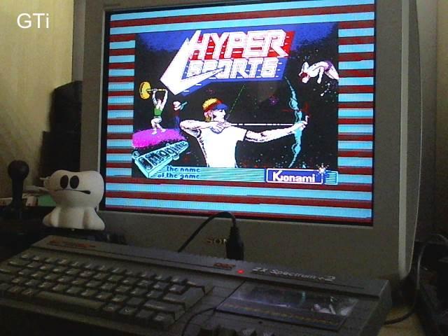 GTibel: Hyper Sports (ZX Spectrum) 110,420 points on 2017-06-24 04:06:43