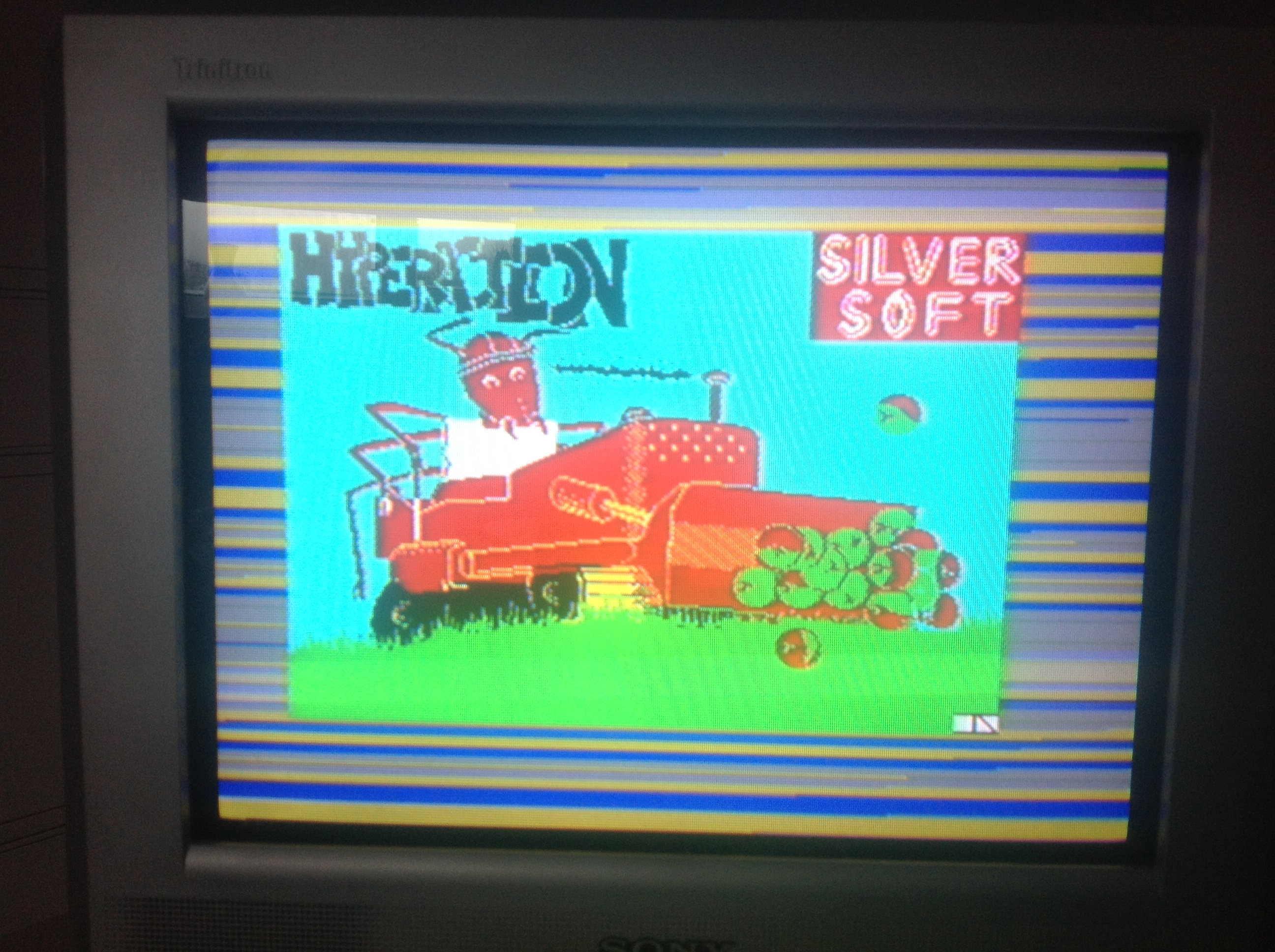 CoCoForest: Hyperaction (ZX Spectrum) 3,475 points on 2016-01-11 08:13:53