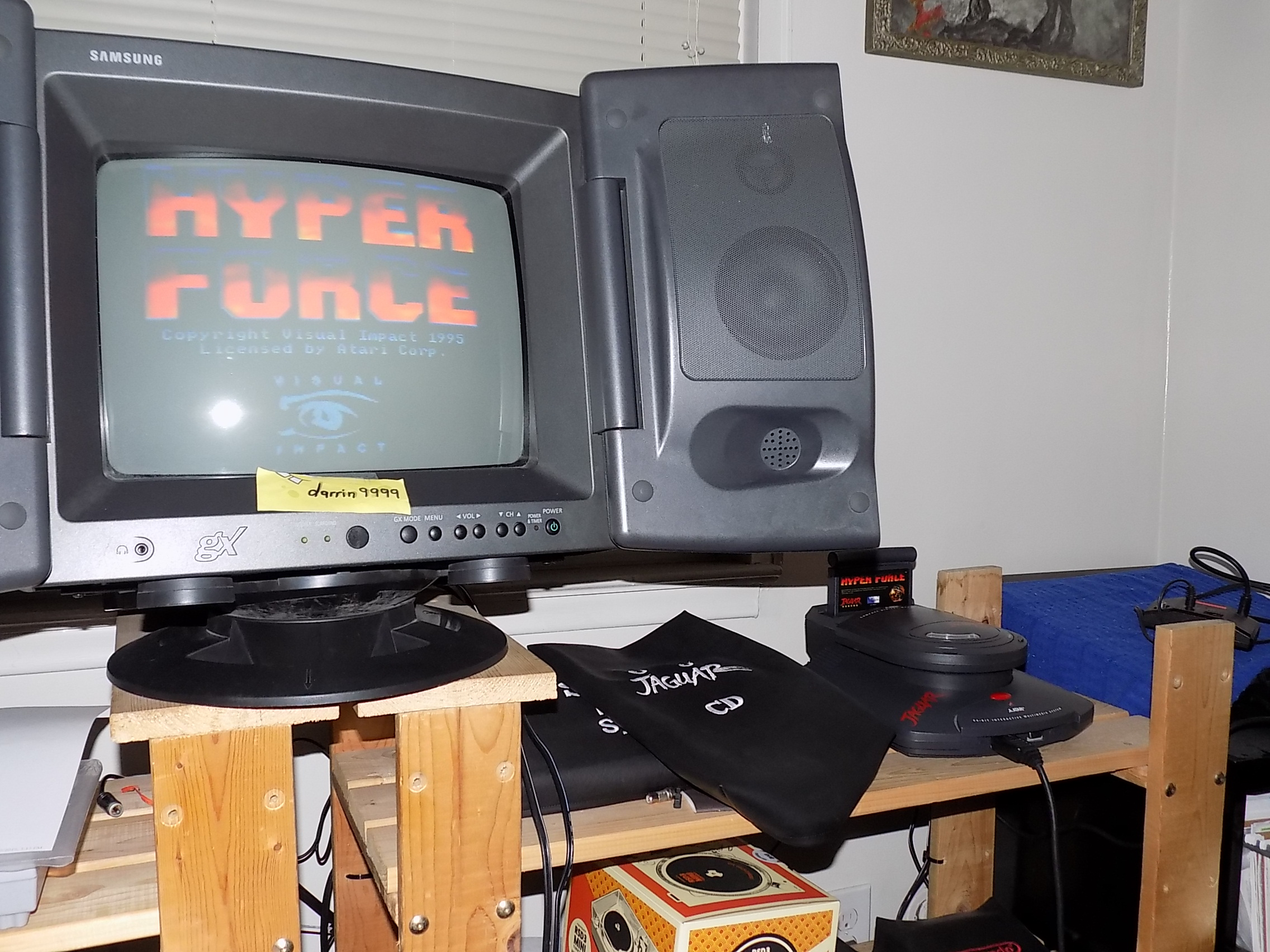 darrin9999: Hyperforce (Atari Jaguar) 945,500 points on 2019-10-20 22:55:53