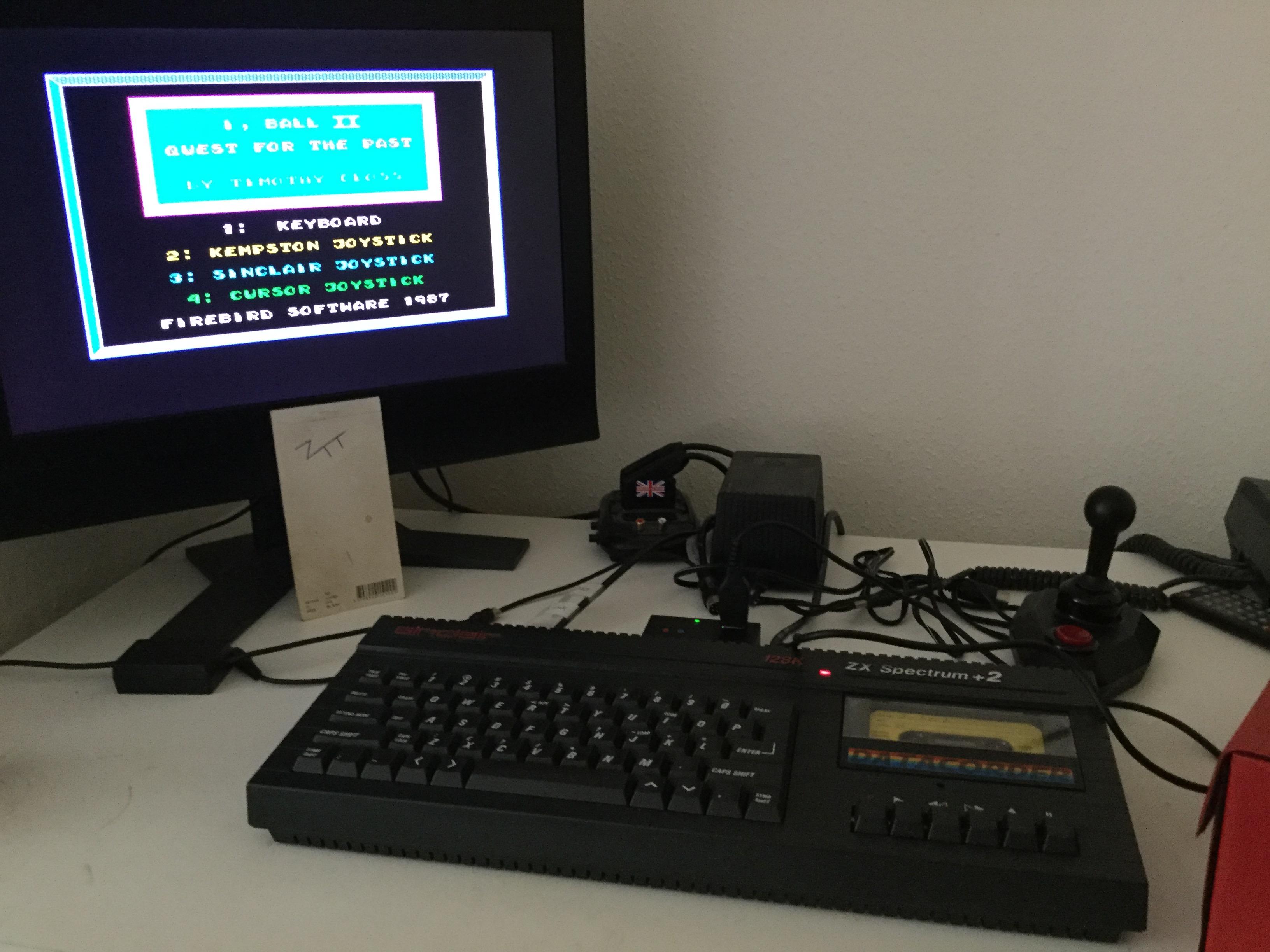 Frankie: I, Ball 2 (ZX Spectrum) 12,060 points on 2020-10-12 03:54:16
