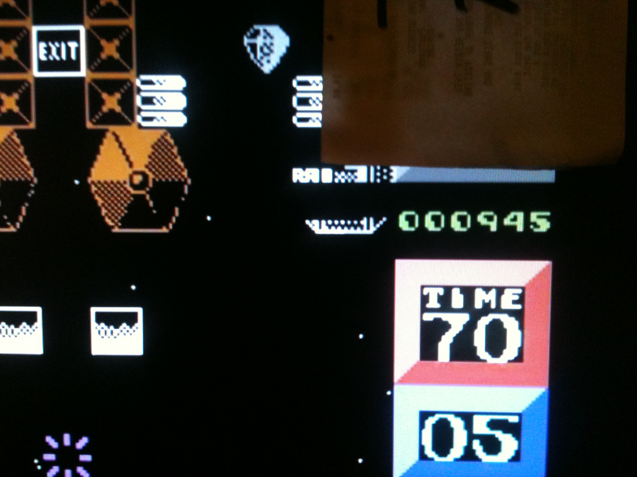 kernzy: I-Ball (Commodore 64 Emulated) 945 points on 2015-09-25 22:17:38