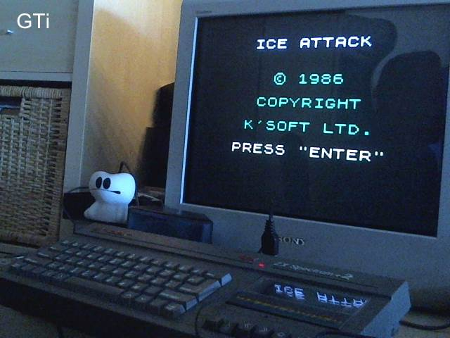 GTibel: Ice Attack (ZX Spectrum) 8,600 points on 2017-06-07 13:39:19