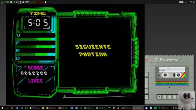 GTibel: Ice Breaker (ZX Spectrum Emulated) 10,200 points on 2019-01-24 12:18:53