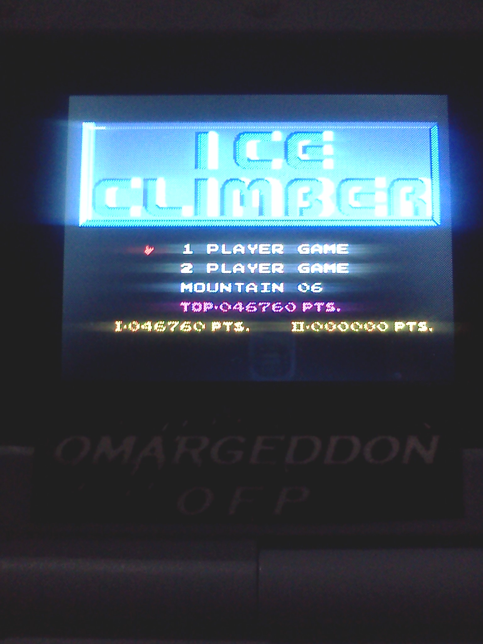 Ice Climber 46,760 points