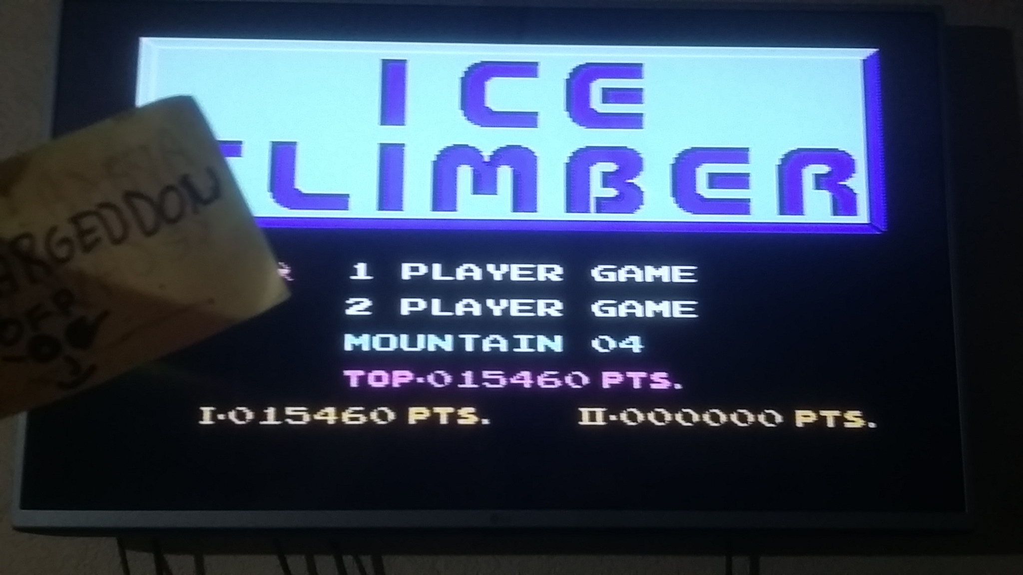 omargeddon: Ice Climber (NES/Famicom) 15,460 points on 2016-09-17 10:50:45