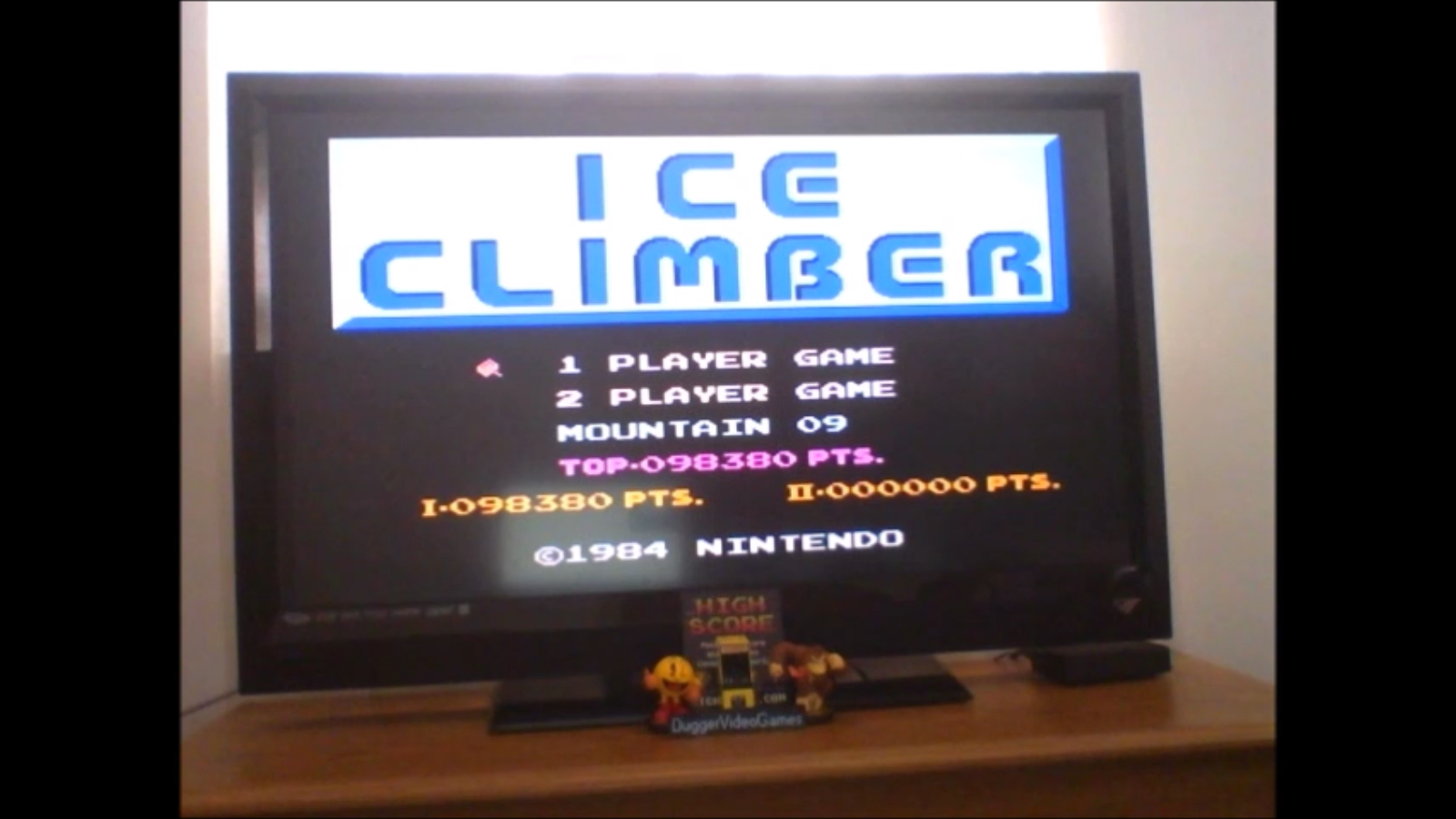DuggerVideoGames: Ice Climber (NES/Famicom Emulated) 98,380 points on 2017-03-06 19:36:31