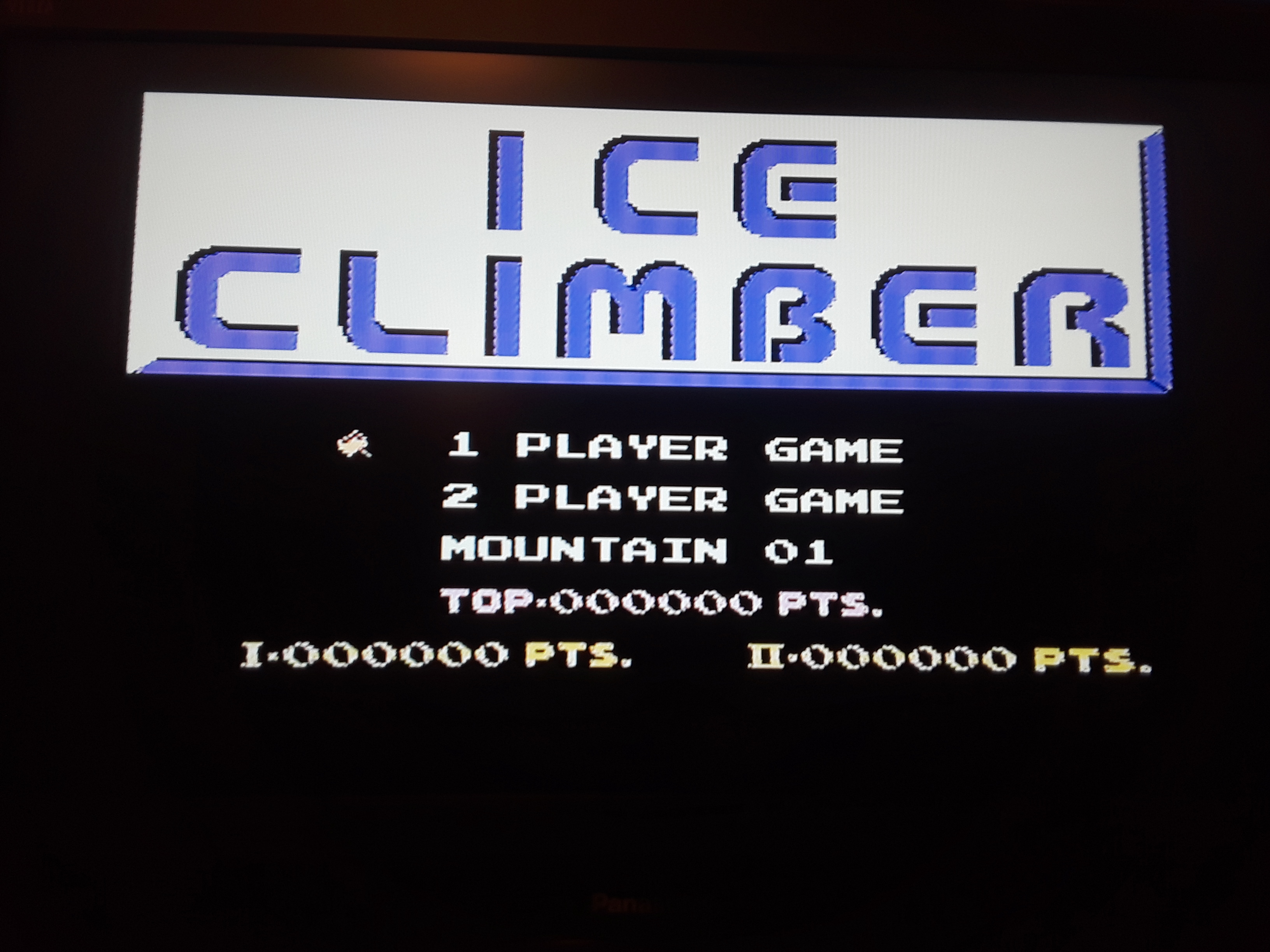 Ice Climber 8,670 points