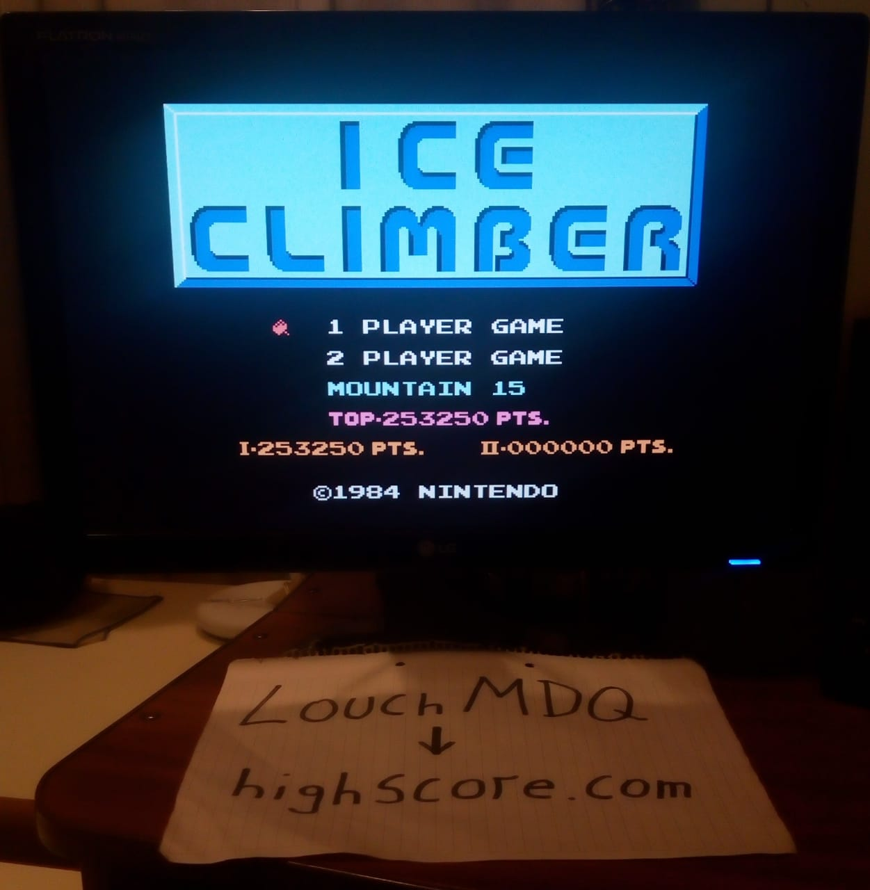 Ice Climber 253,250 points