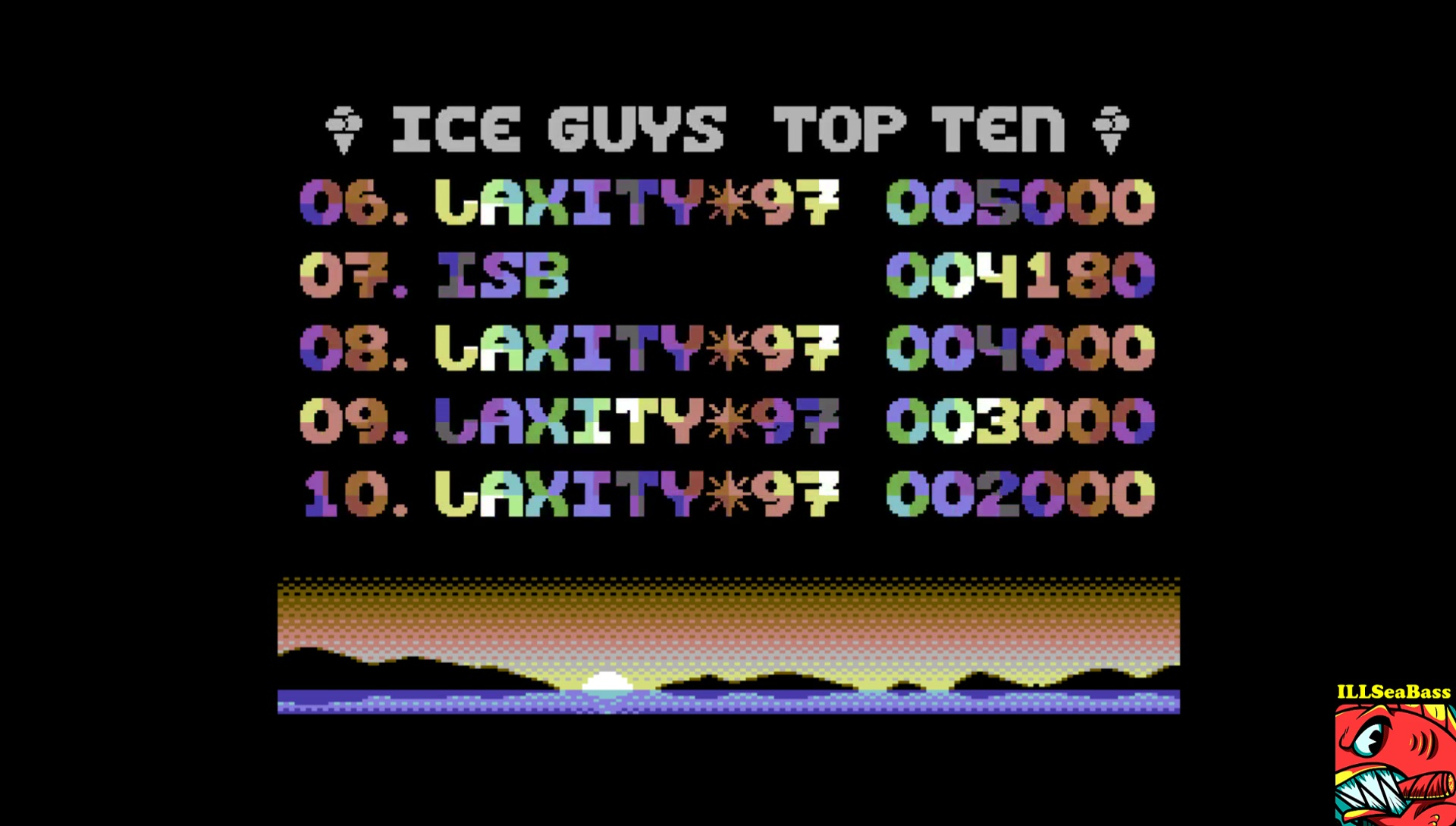 ILLSeaBass: Ice Guyz (Commodore 64 Emulated) 4,180 points on 2017-04-29 11:25:37