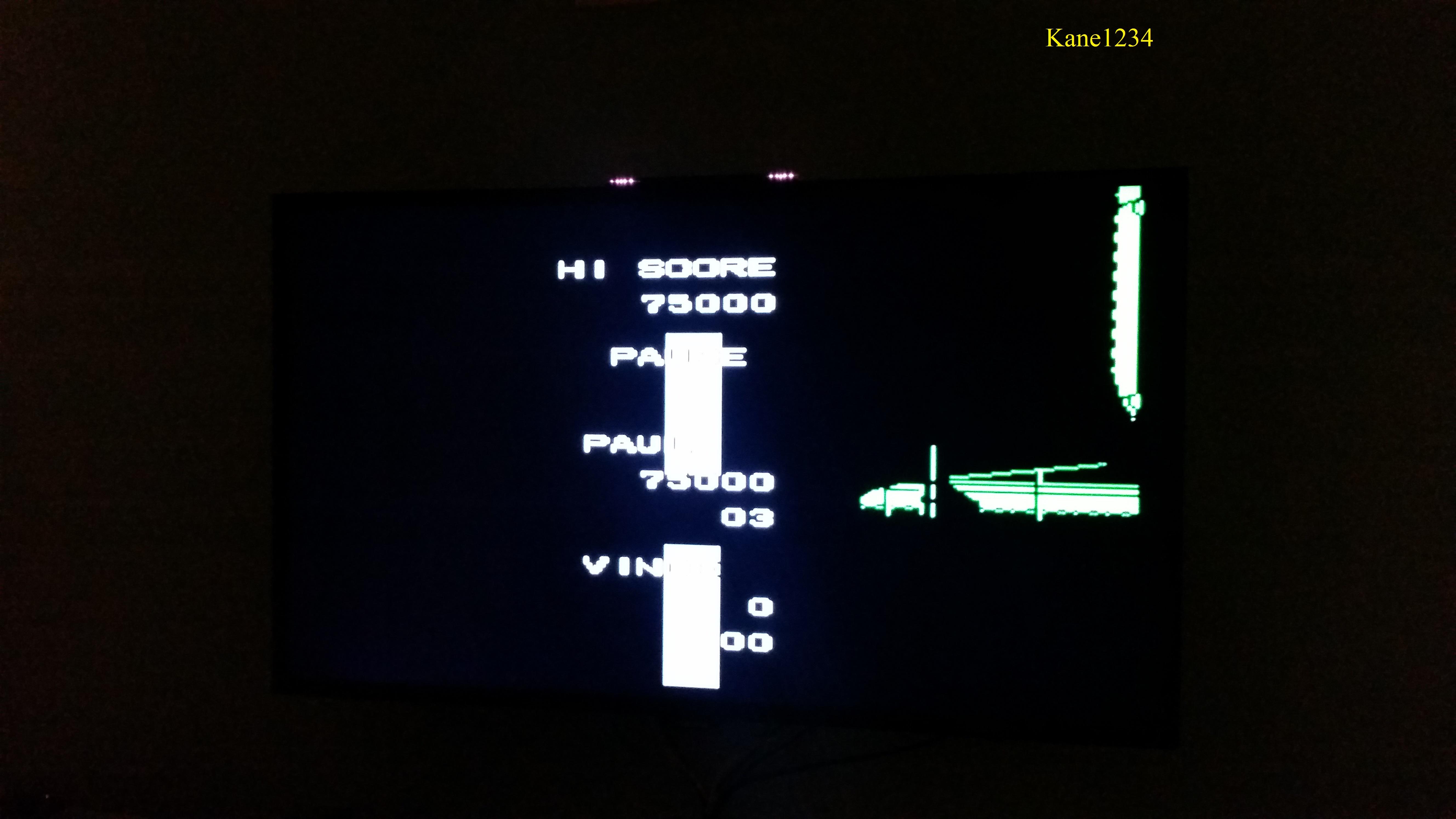Ikari III: The Rescue 75,000 points