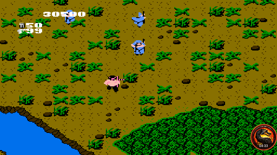 omargeddon: Ikari Warriors [1 Life] (NES/Famicom Emulated) 30,500 points on 2020-04-13 23:29:26