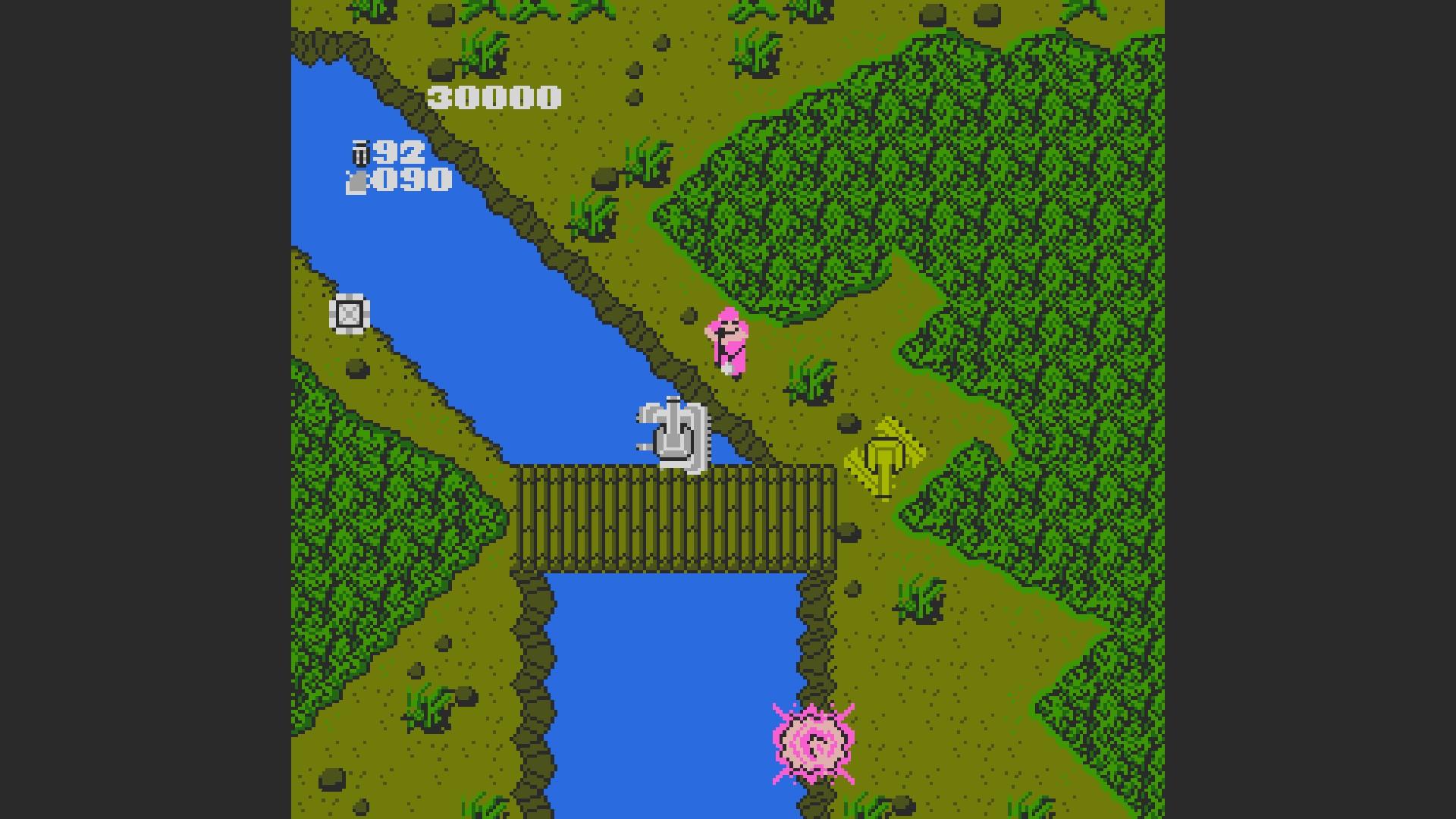AkinNahtanoj: Ikari Warriors [Any Tactics/ Continue Allowed] (NES/Famicom Emulated) 30,000 points on 2020-08-24 16:34:00
