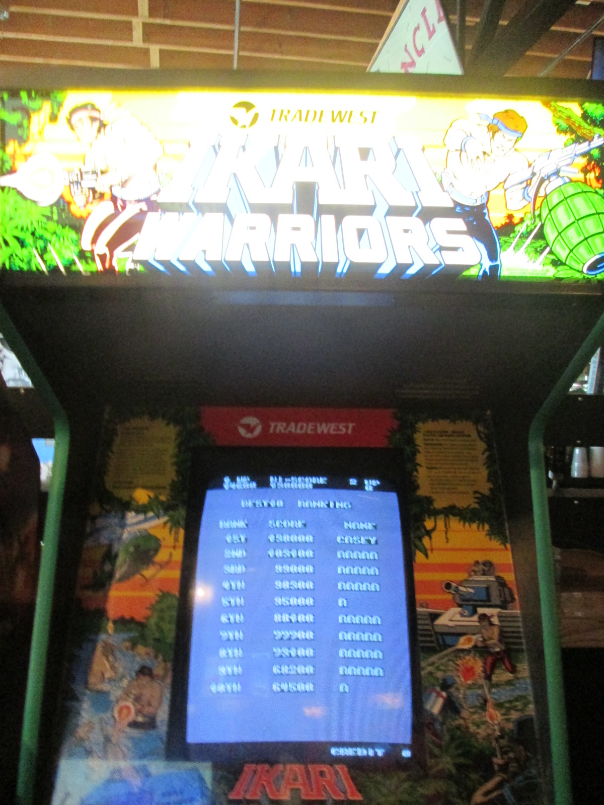 ed1475: Ikari Warriors (Arcade) 5,400 points on 2016-08-28 16:54:01