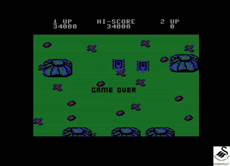 gazzhally: Ikari Warriors (Commodore 16/Plus4 Emulated) 34,000 points on 2017-07-03 06:15:58