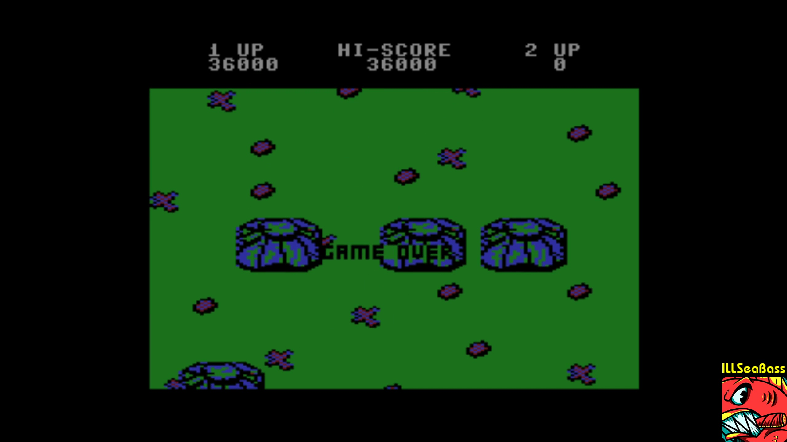 ILLSeaBass: Ikari Warriors (Commodore 16/Plus4 Emulated) 36,000 points on 2018-02-05 22:42:11