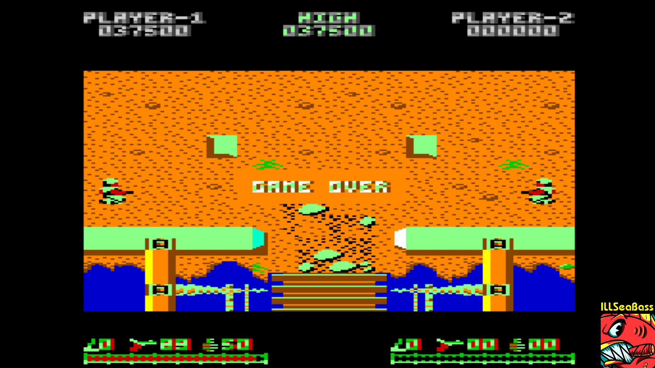 ILLSeaBass: Ikari Warriors (Commodore 64 Emulated) 37,500 points on 2018-02-12 13:45:42