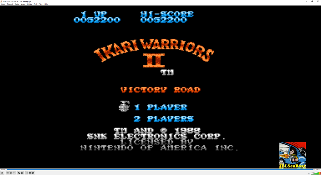 Ikari Warriors II: Victory Road 52,200 points