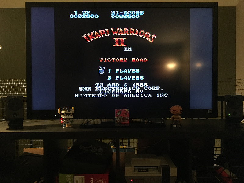 ILLSeaBass: Ikari Warriors II: Victory Road (NES/Famicom) 82,600 points on 2018-02-06 20:56:56
