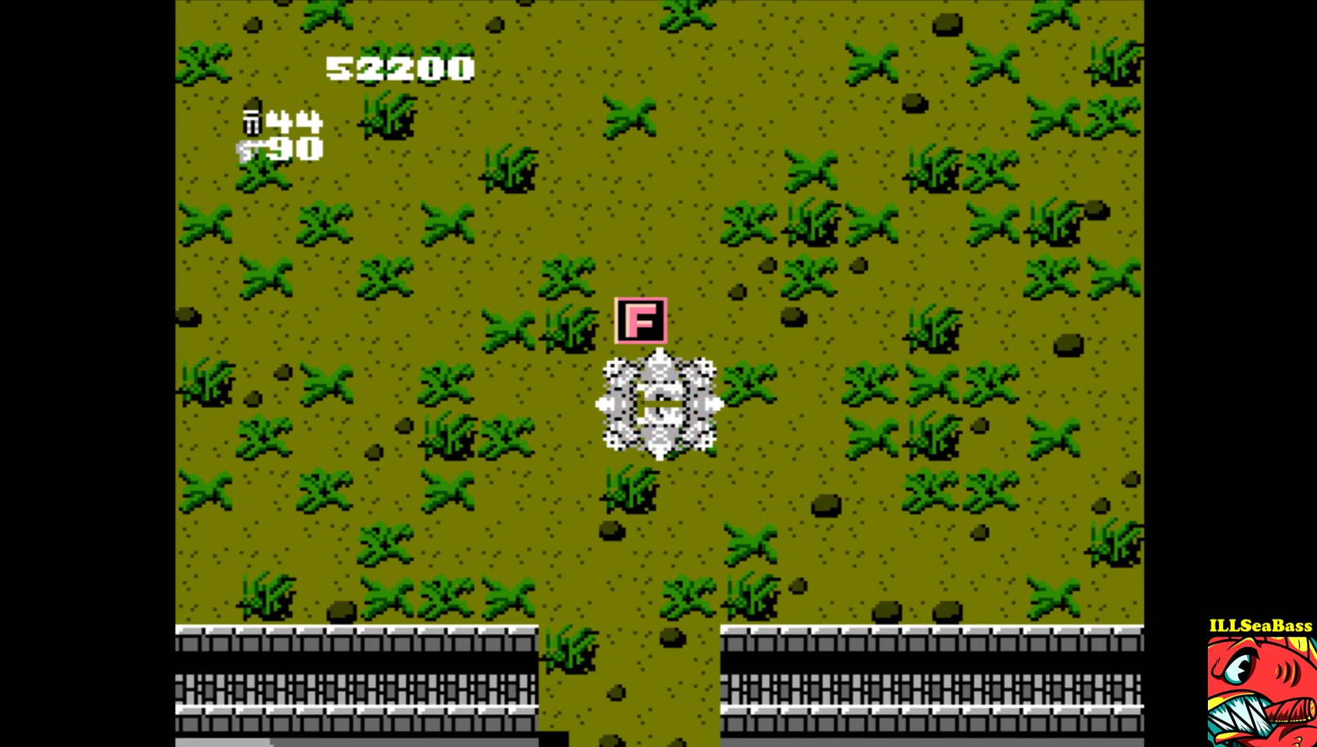 ILLSeaBass: Ikari Warriors (NES/Famicom Emulated) 52,200 points on 2017-03-31 00:16:03