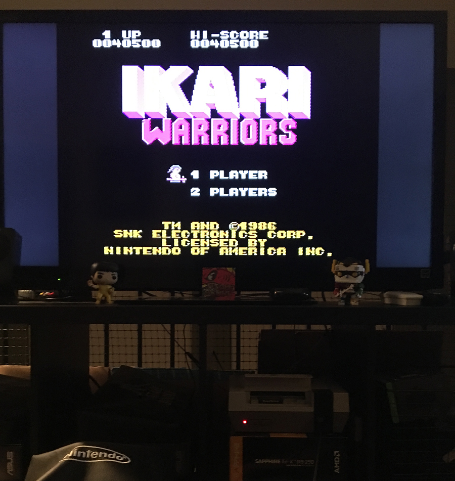 ILLSeaBass: Ikari Warriors (NES/Famicom) 40,500 points on 2017-06-04 00:16:05