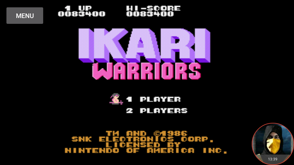 omargeddon: Ikari Warriors (NES/Famicom Emulated) 83,400 points on 2018-05-26 00:03:56