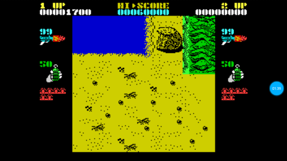 omargeddon: Ikari Warriors (ZX Spectrum Emulated) 1,700 points on 2018-07-11 12:44:14