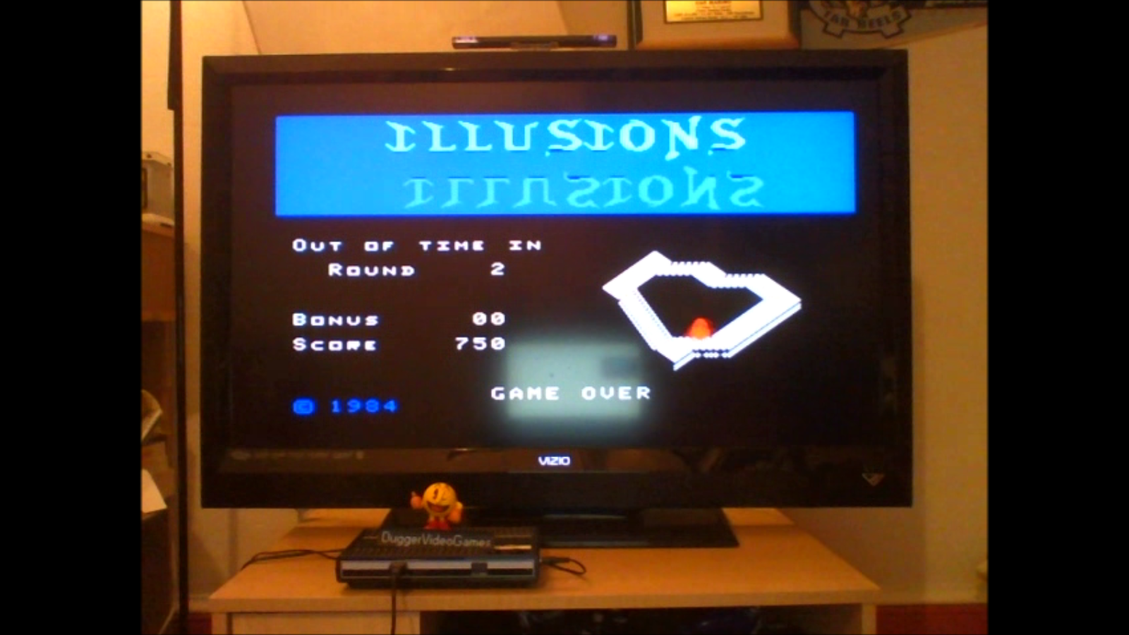 DuggerVideoGames: Illusions [Skill 1] (Colecovision Emulated) 750 points on 2016-07-24 21:20:25