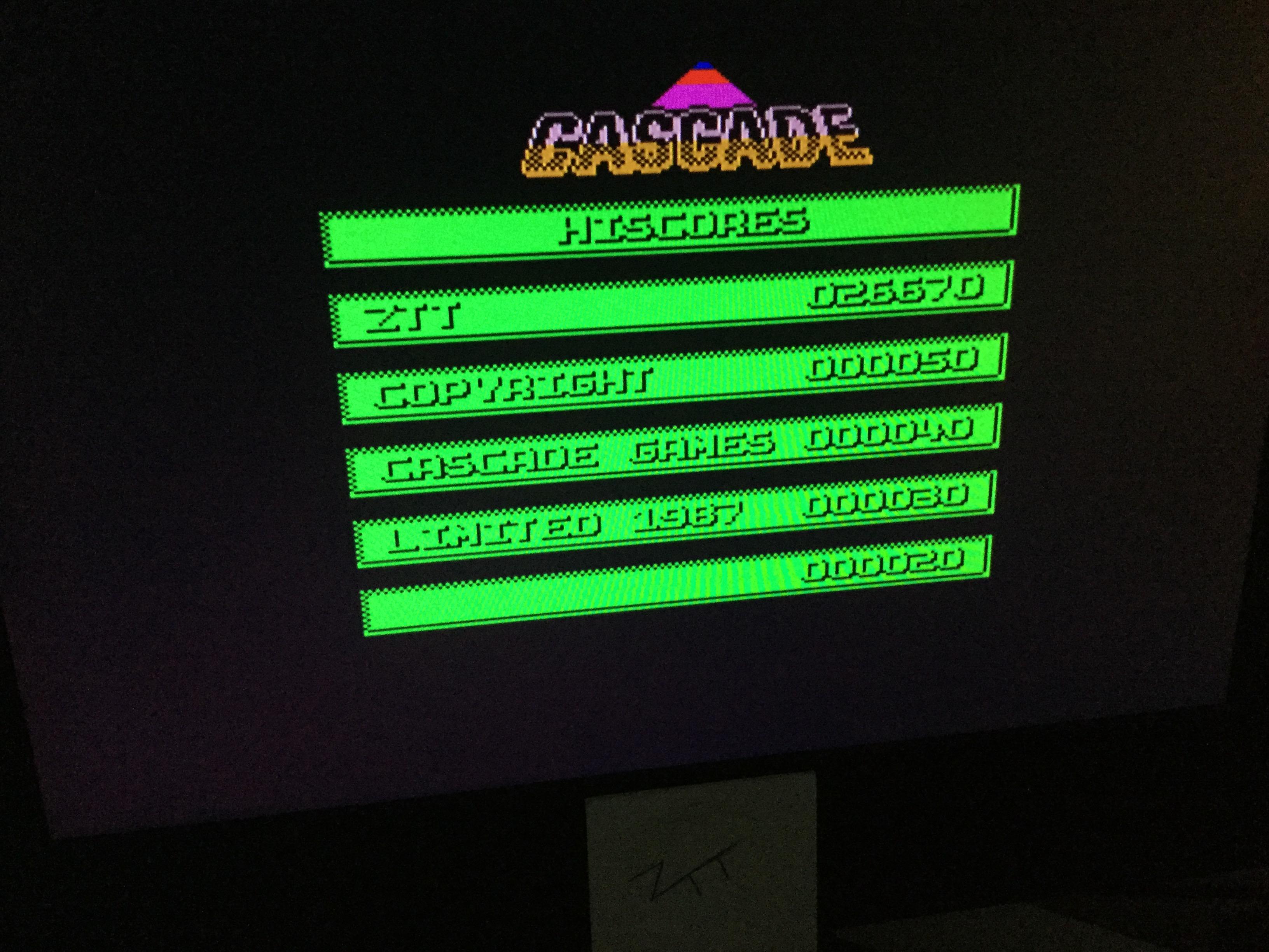 Frankie: Implosion (ZX Spectrum) 26,670 points on 2020-09-11 06:36:11